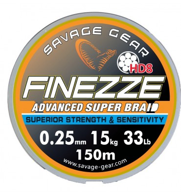 "Multifilamento Savagear ""Finezze HD8"""