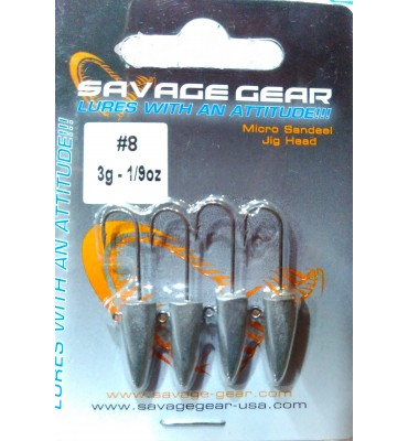 Savage Gear Sandeel Jig Head