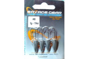 Cabeza Micro Sandeel Savage Gear