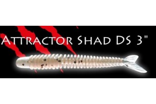 Attractor Shad 3DS  3' (7.2cm) Fish Action