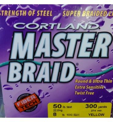 "Multifilamento Cortland  ""Master Braid"""
