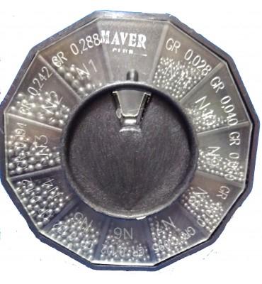 Caja Plomos Maver Negra 11