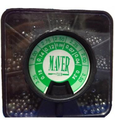 Caja Plomos Maver Negra 7