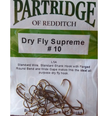 "Partridge ""L5A Dry Fly Supreme""  -  Sin Muerte"