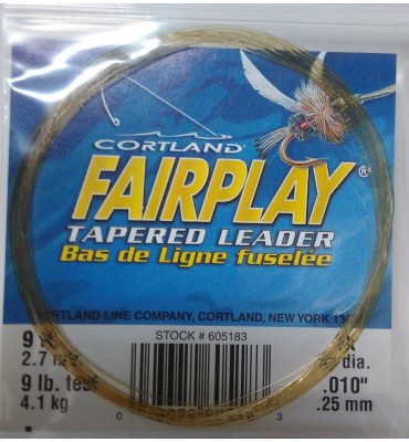 "Bajos Cortland ""Fairplay"" - 9' (2.70m) - OUTLET"
