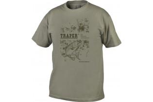 "Camiseta Traper ""Dakota"" - Verde"