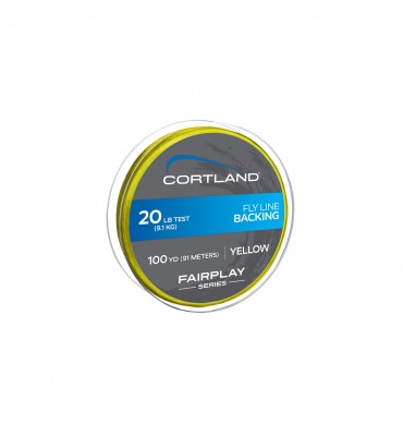 Backing Cortland Fairplay 100yds - 20lbs - Amarillo