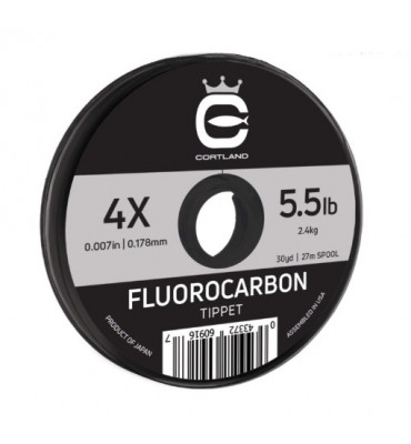 Hilo Fluorocarbono Cortland Precision - 27m