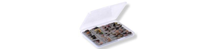Cajas de mosca