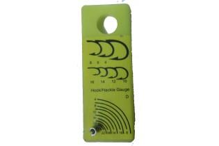 Hackles / Hooks Gauge