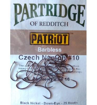 Partridge Czech Nymph  - Barbless