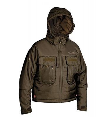 "Breathable Fishing Jacket Traper ""Jukon"" - Nut"
