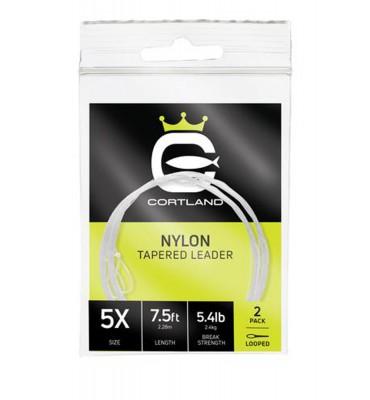 Leaders Cortland Nylon - 12' (3.60m)  - 2 units